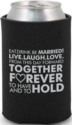 Totally Wedding Koozies - Inexpensive wedding favors!  The have them in both coral and mint!!!!!!!!!!!!!!!