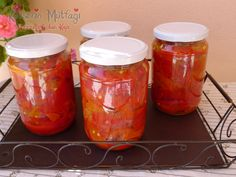 Közlenmiş Biber Konservesi - Kevser'in Mutfağı - Yemek Tarifleri