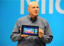finally forays into the tablet PC market with the launch of their Surface Tablet. This was done on June 2012 via a media press launch held at the Milk Studios in Los Angeles, California. Microsoft Surface, Steve Ballmer, Windows Rt, Milk Studios, New Surface, Multi Touch, Cool Tech, Microsoft Windows, Science And Technology