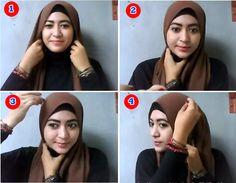 Tutorial Hijab Simple Untuk Kuliah Ala Natasha farani Terbaru