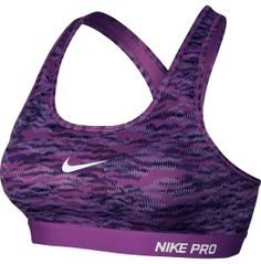 52d5c47004 Nike Women s Pro Classic Padded Reflect Printed Compression Sports Bra