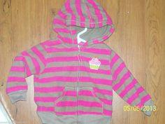 Carter's Fleece Winter Coat (Newborn - for Girls Hoody, Hoodie Jacket, Penny Auctions, Pink Brown, Winter Coat, Pink Girl, Baby Girls, Cupcake, Best Deals