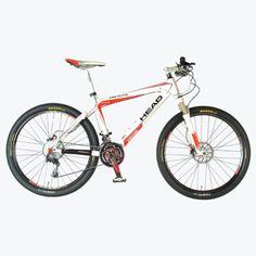 Head Pro Elite Mountain Bike 26Inch Wheels 16Inch Frame RedWhite -- You can find more details by visiting the image link.
