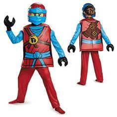 Girls Deluxe Ninjago Nya Costume – LEGO