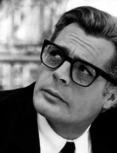 Marcello Mastroianni | Marcello rose to fame and lead Italian film making in the 1960's, most notably in his starring role in La Dolce Vita. | Basic Mens Fashion | #Vintage #Film