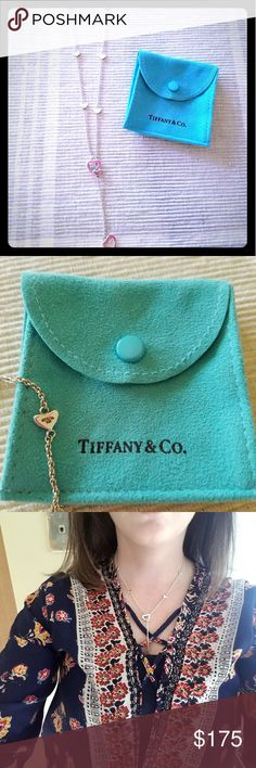 Tiffany and Co. Heart Toggle Necklace Sterling silver Tiffany necklace Tiffany & Co. Jewelry Necklaces