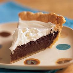 CHOCOLATE CREAM PIE     .   8 TABLESPOON COCOA    . 4 TABLESPOON FLOUR        ¼ Teaspoon SALT       1 CUP SUGAR   (MIX TOGETHER)       ADD  2 ½ CUPS MILK  2 EGG YOLKS – BEATEN      (COOK UNTIL THICK)        REMOVE FROM HEAT        ADD 2 TABLESPOON BUTTER     1 ½ Teaspoon vanilla       Pour into pie shell. Chill for 2-3 hours.  Top with cool whip.