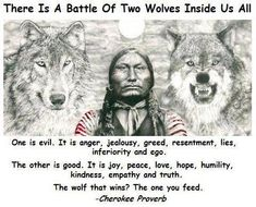 The wolf that wins
