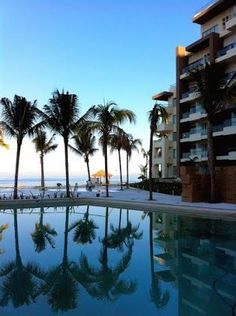 A beautiful scene of blue at Now Amber Puerto Vallarta.