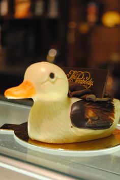 The Peabody Memphis ‏ @PeabodyMemphis  A white chocolate duck from The Peabody Deli & Desserts! #FriFotos twitpic.com/8u0rzx Peabody Hotel Memphis, Mississippi Delta, Graceland, Spam, Ducks, White Chocolate, March, Thanksgiving, Board