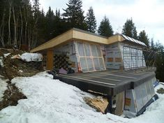 Image result for space saving clever design aspects in earthships