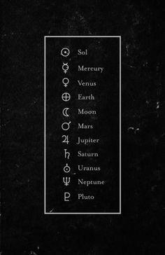 Alchemical symbols More