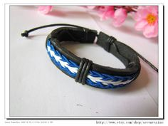 Adjustable  Real Leather and Multicolour Cotton by sevenvsxiao, $3.50