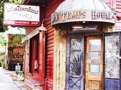 Le Bon Temps Roulé - We love the bar's bloody mary, which is packed with produce and served in a plastic cup - The Locals-Only Guide to New Orleans via Sandwich Bar, New Orleans Travel Guide, Visit New Orleans, Canada, Free Things To Do, Vacation Destinations, Vacations, Vacation Ideas, Oh The Places You'll Go