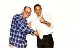 Barack Obama by Terry Richardson / @SingleFin_
