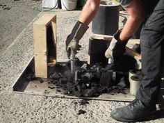 Metal Casting at Home Part 2 Backyard Foundry - YouTube