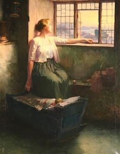 Buy online, view images and see past prices for William Ladd Taylor (American Woman at the Window. Invaluable is the world's largest marketplace for art, antiques, and collectibles. A Level Art, Magazine Art, Art Market, View Image, Gouache, Oil On Canvas, Animation, Windows, Portrait