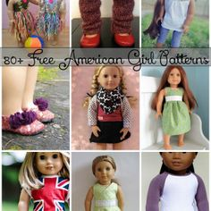 Free American Girl Doll Patterns - IDK why I'm pinning this. Making doll clothes is frustrating for me. Sewing Doll Clothes, Sewing Dolls, Girl Doll Clothes, Doll Sewing Patterns, Girl Dolls, Ag Dolls, Free Doll Clothes Patterns, Barbie Clothes, American Girl Crafts
