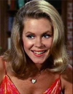 Elizabeth Montgomery as Samantha Stephens in the TV show Bewitched.