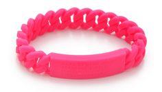 Rubber-Standard-Supply-Bracelet-marc-jacobs-neon-pink