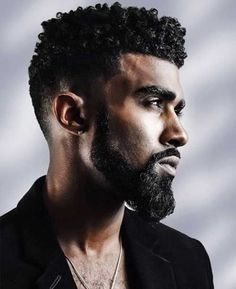 Beard styles for black men come in a range of lengths and looks. From short patterned ones to full grown beards, the beard styles suited to the darker skin are no less varied. Being a black guy, it… Black Haircut Styles, Black Men Haircuts, Black Men Hairstyles, Unique Hairstyles, Hairstyles Haircuts, Braided Hairstyles, 1940s Hairstyles, Modern Haircuts, Party Hairstyles