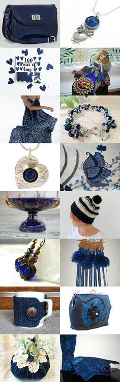 DARK BLUE FOR YOU by Vickie Wade on Etsy--Pinned with TreasuryPin.com