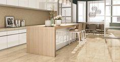 Veja diferentes opções de revestimentos para cozinha. Ao escolher um revestimento para sua cozinha, leve em consideração que a área poderá precisar de uma limpeza mais abrasiva.