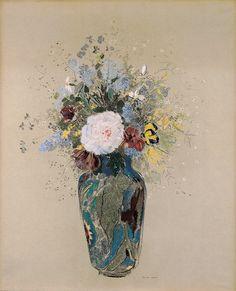 Odilon Redon I Vase of Flowers | Milwaukee Art Museum