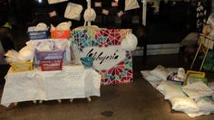 Feria Las Domingas, dic. 2012.   No fue tan linda la experiencia, pero le pusimos garra!