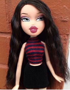 """Find out more info on """"cabbage patch doll"""". Look into our website. Bratz Doll Makeup, Bratz Doll Outfits, Black Bratz Doll, Brat Doll, Bratz Girls, Makeup Challenges, Makeup Tattoos, Funny Tattoos, Doll Repaint"""