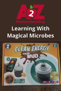 Can you make clean energy with mud? We gave it a try with a #STEMkit from Magical Microbes. See our experience and learn more about Magical Microbes in this blog review.