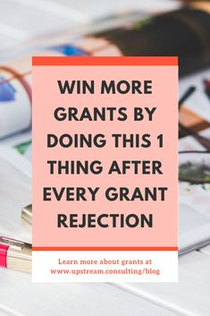 Getting a grant rejection doesn't have to be all bad news! Take this opportunity to ask the funder how you can improve on future proposals. Click through to read more helpful tips for what to do after a grant is rejected. Grant Proposal Writing, Grant Writing, Writing Tips, Nonprofit Fundraising, Fundraising Ideas, Grant Money, Grant Application, Need Money, Non Profit