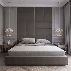Stunning Luxury Bedroom Design Ideas Make You Feel Relax - A number of interior designers have had successes from previous designs that capture the plain white room into something that can distract an owner de. Headboards For Beds, Luxury Bedroom Design, Side Tables Bedroom, Interior Design Companies, Luxury Bedroom Furniture, Small Bedroom, Bedroom Bed Design, Luxury Interior, Classic Bedroom
