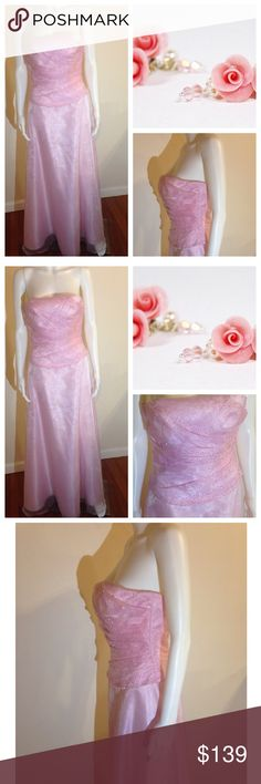 💥FLASH-SALE💥❤️❌Mon Cheri Legala Pink Gown ‼️‼️Mon Cheri Legala Pink Sequin Strapless Dress Size 8 Keywords: womens faschion, women fashion, vintage, retro, free-spirited, ready-to-go outfits, off-the-shoulder, flower child style, fashion clothing, beauty, career, colors, patterns, party, sexy, cocktail, evening, formal, pageant, bridesmaid, wedding, new, summer sandal, beach, resort, vacation, teens, adults, woman, pretty girl, in style, trends, season runway show Mon cheri Dresses