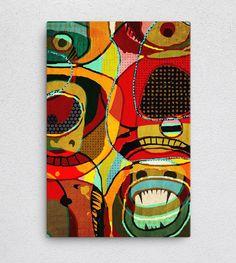 Menace from the deeep   #Canvas #Poster #virtualart #artprints #presents #christmas #giftidea #Art #artistic #surreal