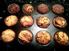 Low Carb Kokosmehl-Muffins Gluten Free Recipes gluten free 1 to 1 baking flour Low Carb Sweets, Low Carb Desserts, Sweet Bread Meat, Paleo Dessert, Dessert Recipes, Coconut Flour Muffins, Paleo Postre, Law Carb, Low Carb Cupcakes