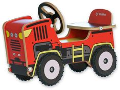 Buildex Farmin Play Tractor Riding Push Toy - Your little one can maneuver the Buildex Farmin Play Tractor Riding Push Toy around the house for hours of fun. This sturdy wooden tractor is a durable. Black Kids Fashion, Push Toys, Farm Trucks, Ride On Toys, Kids Learning, Playground, Tractors, Monster Trucks, Activities