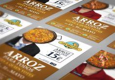 Campaña de Publicidad Jornadas del Arroz para #losmellizos por #Dika. #estudio #studio #proyecto #project #málaga #costadelsol #diseño #design #gráfico #graphic #campaña #campaign #publicidad #publicity #advertising #streetmarketing #marketing #rice #eslogan #premio #preize #agripina #flyers #restauración #paella