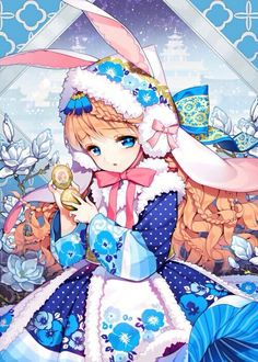 grafika anime, girl, and cute