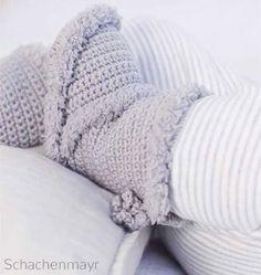Yarns for Knitting and Crochet Patterns Crochet Pullover Pattern, Fingerless Gloves Crochet Pattern, Crochet Boots, Crochet Baby Booties, Crochet Slippers, Baby Uggs, Baby Boots, Baby Knitting Patterns, Crochet Patterns