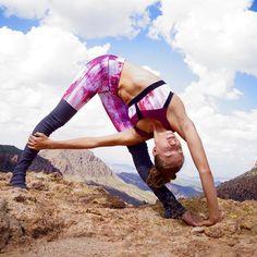 forward fold twist #yoga