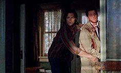 Wait what the hell is happening? #spn #Misha Collins #Castiel #Jimmy Novak #Sam winchester #Jared Padalecki