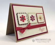 Bloomin' Marvelous Card & Stampin' Up! Introduces Clear Stamps! - Stampin' Up! Demonstrator - Mary Fish, Stampin' Pretty Blog, Stampin' Up! Card Ideas & Tutorials
