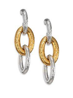 Gurhan Hoopla Rectangle Hoop Earring RiHLz1QbRF