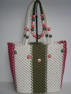 Macrame bag,handmade,tote,purse,handbag