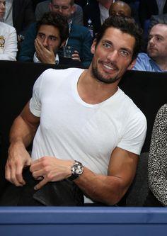 David Gandy Attends The Barclays ATP World Tour Finals - Socialite Life