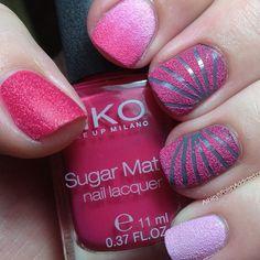 Shades of pink Nail Mat, Girly Stuff, Girly Things, Cute Nails, Pretty Nails, Gell Nails, Nail Candy, Beautiful Nail Designs, Make Me Up