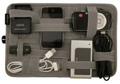 Store All Your Electronic Gadgets & Cords in One Place!