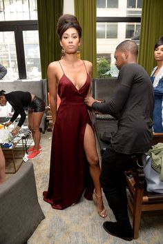 LaQuan Smith's designs for the Spring/Summer 2016 season. #NY F W #Fashion Show.