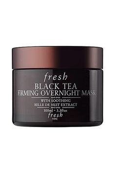 Fresh Black Tea Firming Overnight Mask, $92, available at Sephora. #refinery29 http://www.refinery29.com/anti-aging-routine-tips#slide-15